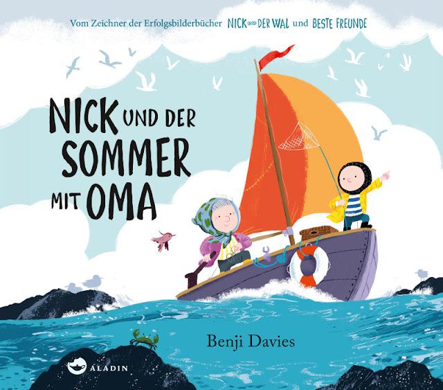 """Heute ein Buch! Kinderbücher über die Schönheit und Schutzbedürftigkeit der Meere. In """"Nick und der Sommer mit Oma"""" retten Enkel und Großmütter gemeinsam die bedrohten Meeresvögel."""