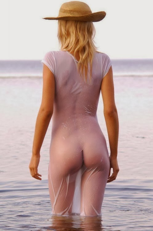 see women that are pregnant with sexy thongs on