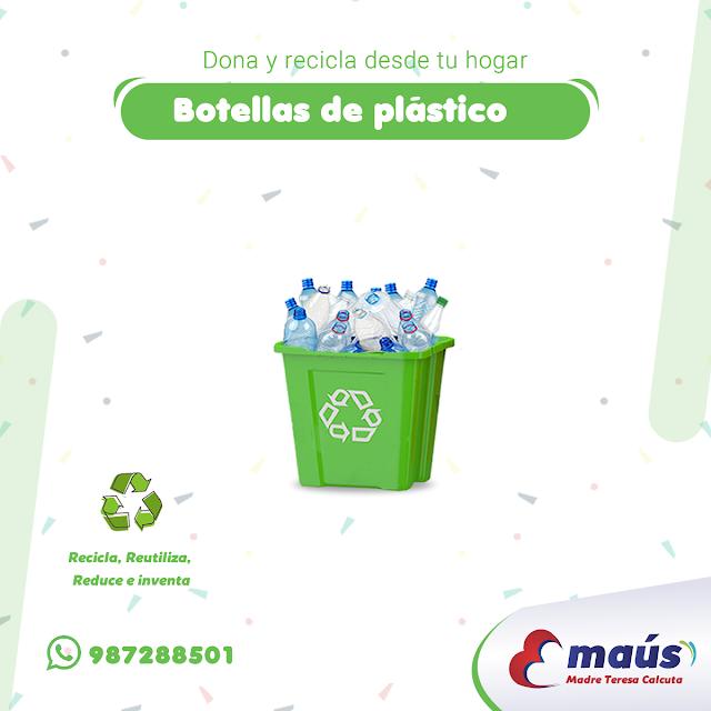 Reciclaje de botellas de plástico en Lima