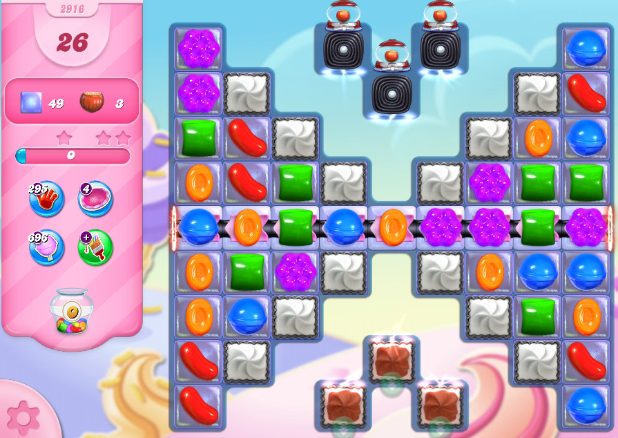 Candy Crush Saga level 2916