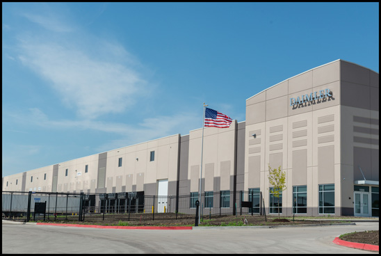 New DTNA Iowa Parts Distribution Facility