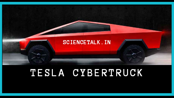 TESLA CYBERTRUCK | SCIENCETALK.IN