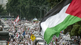Rekayasa Lalu Lintas Aksi Bela Palestina 115