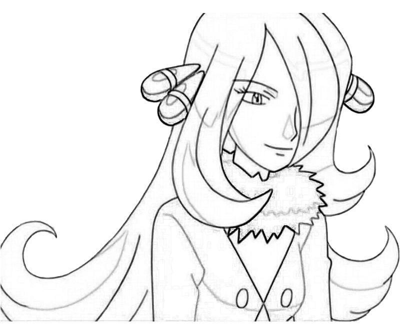 cynthia coloring pages - photo#12