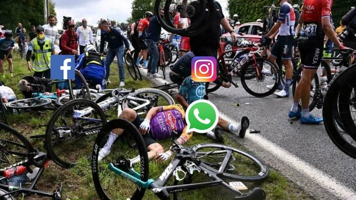 Facebook, WhatsApp e Instagram están caídos
