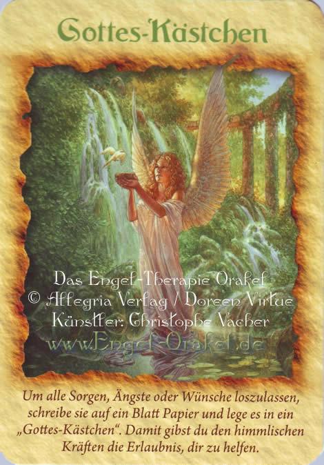 Orakel de tageskarte erzengel engel Deine Engel