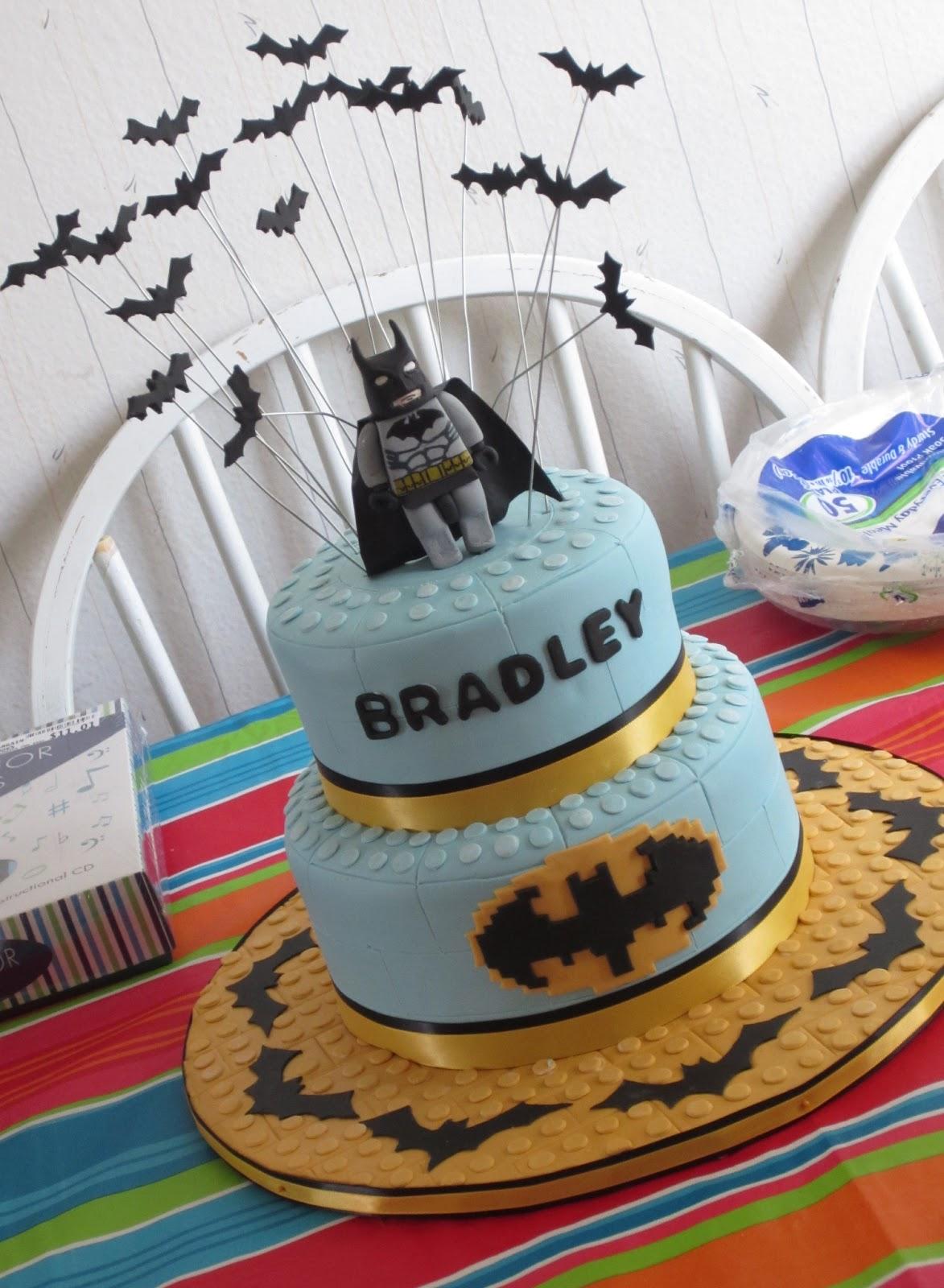 J S Cakes Batman Lego Cake