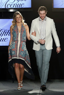 Danielle And Bobby Walk Down The Ramp
