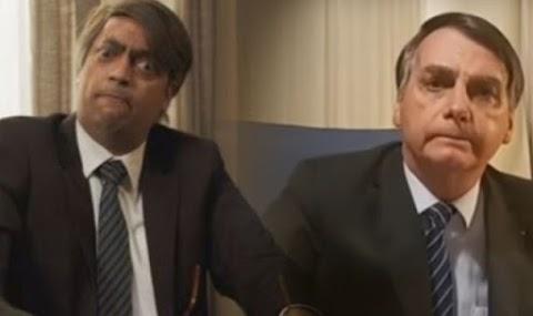 Vídeo: Zorra Total debocha de Bolsonaro e seguidores reagem contra a TV Globo