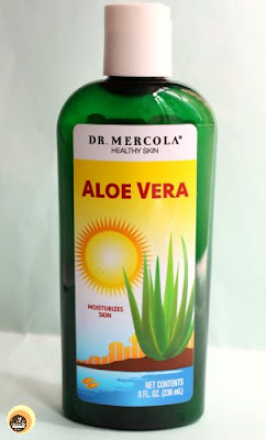 Dr. Marcola Aloe Vera Gel Details on Natural Beauty And Makeup Blog