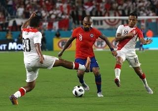Чили – Перу  смотреть онлайн бесплатно 4 июля 2019 прямая трансляция в 03:30 МСК.