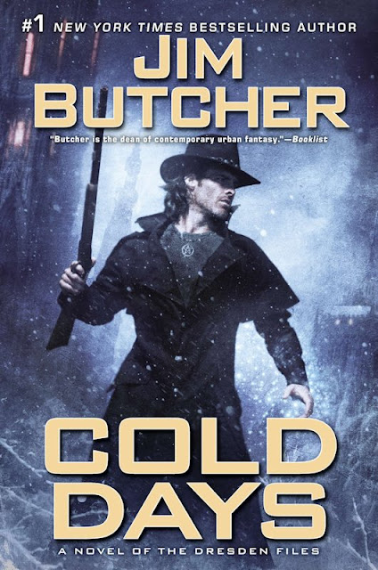 Release Day Review - Cold Days (The Dresden FIles 14) by Jim Butcher - November 27, 2012