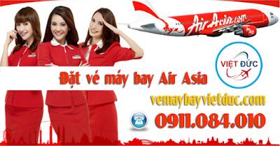 đại lý đặt vé khuyến mãi Air Asia bay thả ga