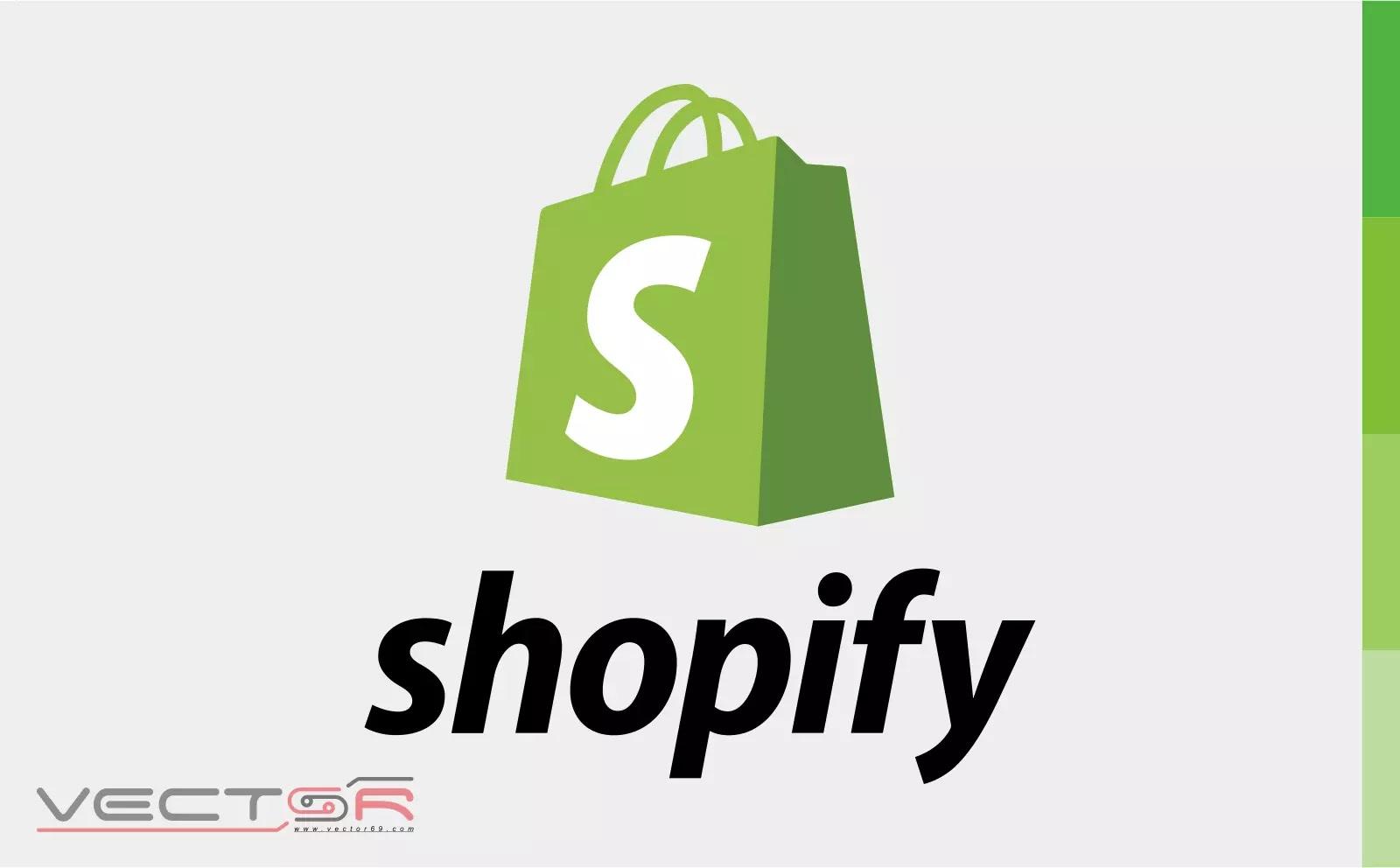 Shopify (2006) Vertical Logo - Download Vector File CDR (CorelDraw)