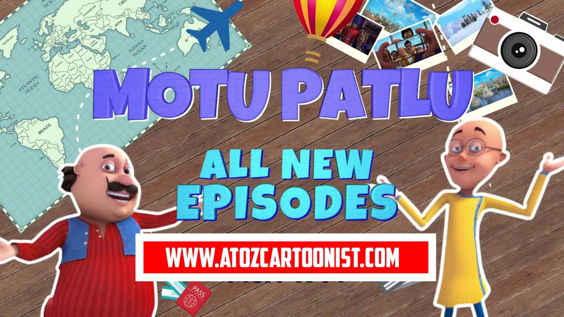 MOTU PATLU ALL NEW EPISODES 2021 IN HINDI DOWNLOAD (720P HD)