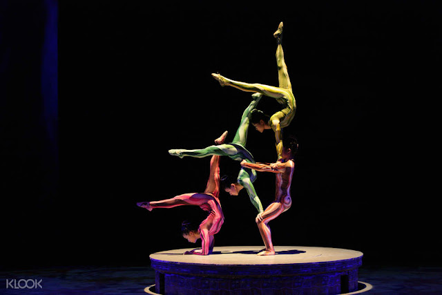 ERA Intersection of Time Acrobatic Show in Shanghai