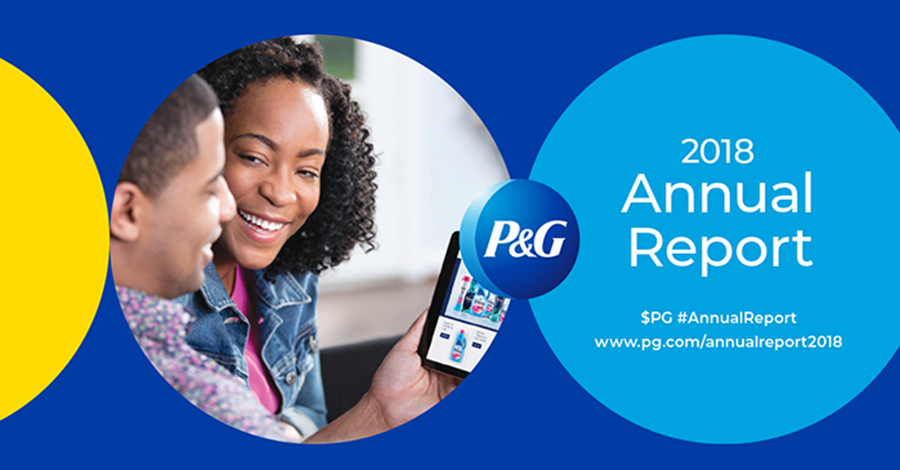 Procter & Gamble's 2018 annual report