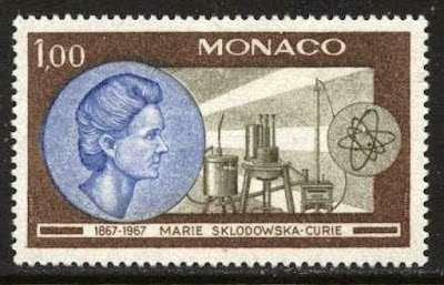 MONACO 1967 Marie Curie, Chemical Apparatus