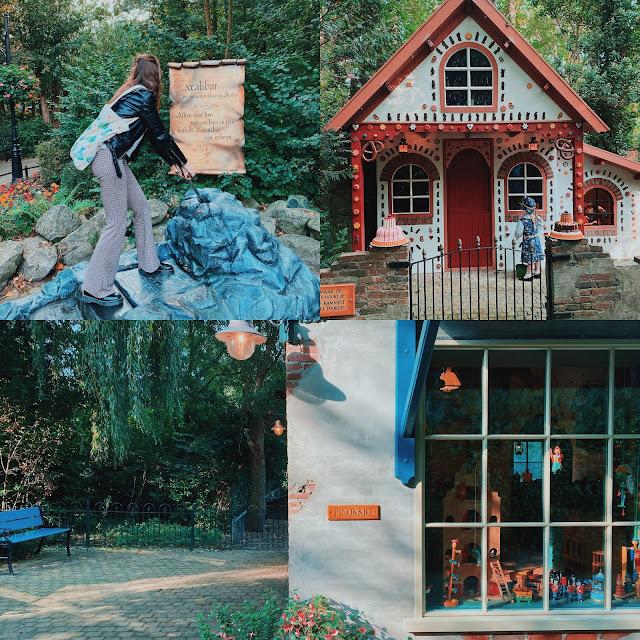 Sprookjesbos in Sprookjeswonderland in Enkhuizen