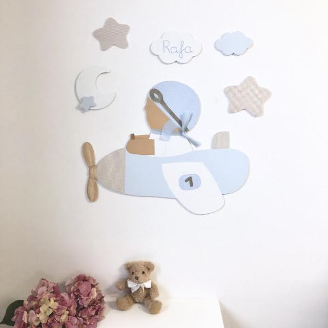 Ideas para decorar el cuarto de tu hijo con siluetas
