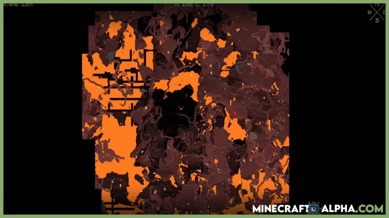 Minecraft Xaero's World Map Mod For 1.17.1/1.17 (Trace Your Footsteps)