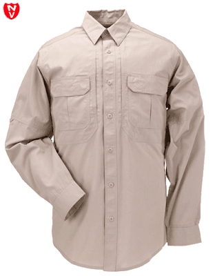 5.11 TACLITE® Pro Long Sleeve Khaki Shirt