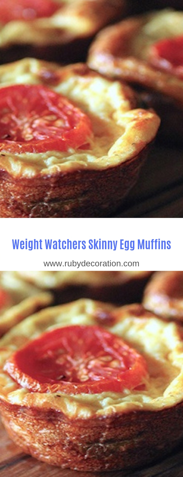 Weight Watchers Skinny Egg Muffins