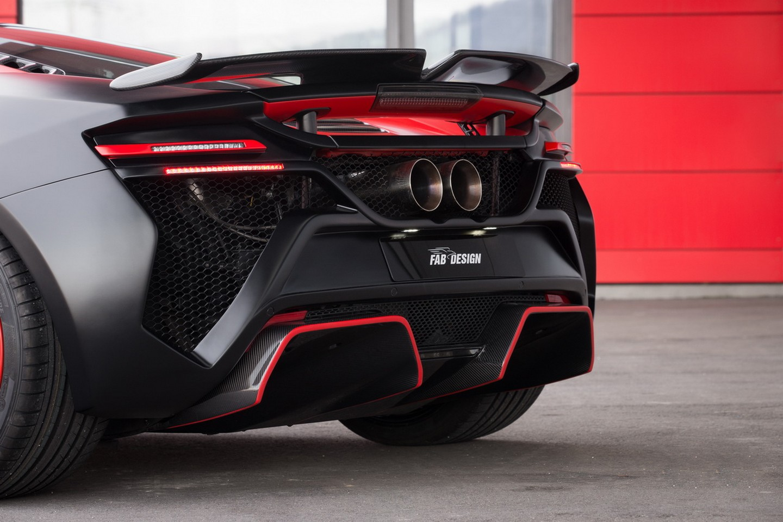 FAB Design độ McLaren 650S tại Geneva Motor Show 2016