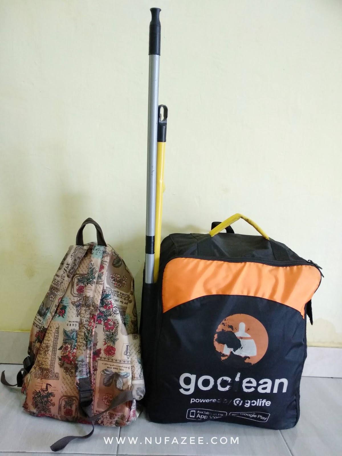 Review GO-CLEAN dan Pengalaman Saat Order GO-Clean untuk ke Marelan