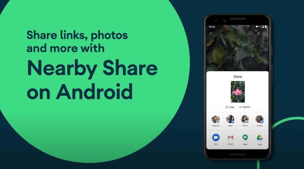 يمكنك الآن استخدام Android Nearby Share لمشاركة التطبيقات
