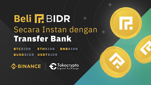 Apa itu Cryptocurrency Binance IDR (BIDR)