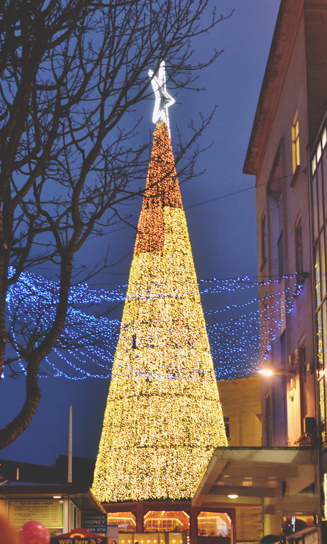 Bristol Christmas Market Tree