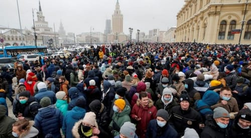 Russian police are using digital technology for protesters