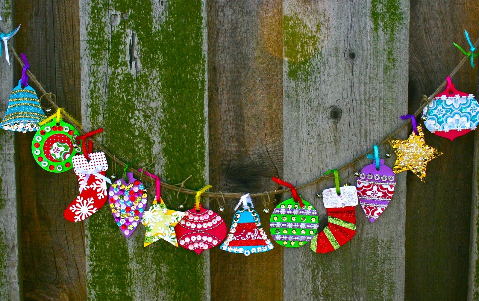 christmas ornaments banner - photo #47