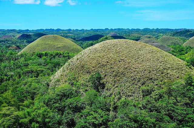 Wzgórza Czekoladowe na Filipinach