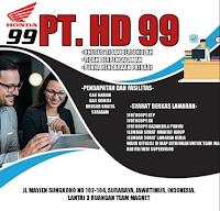 Info Lowongan Kerja Surabaya di PT. HD 99 September 2021