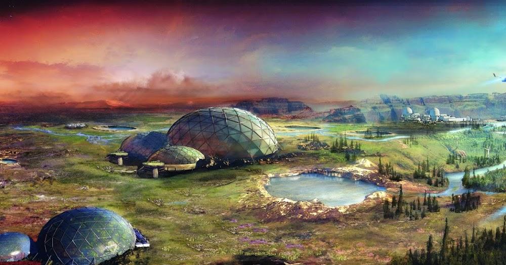 Terraforming Mars by Stefan Morrell