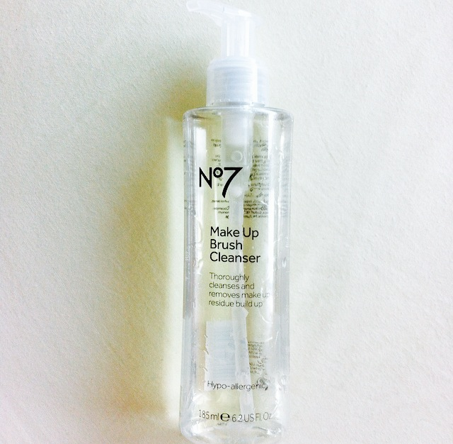 No7 Make-up Brush Cleanser Review