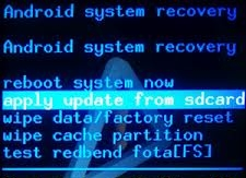 reset android via cwm
