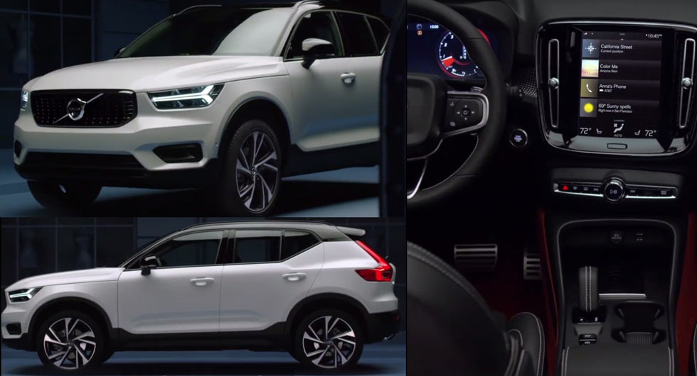 Volvo XC40 gets an early reveal!