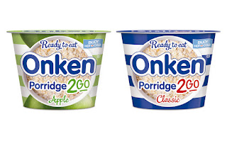 Onken porridge to go apple and classic