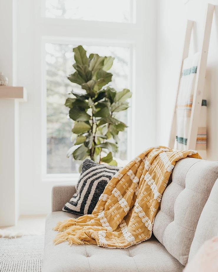 Tekstil Hangat Nyaman Konsep Scandinavia