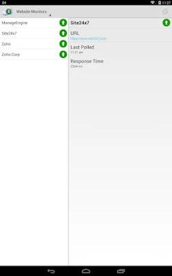 Screenshot Mobile Network Poller - Apcoid