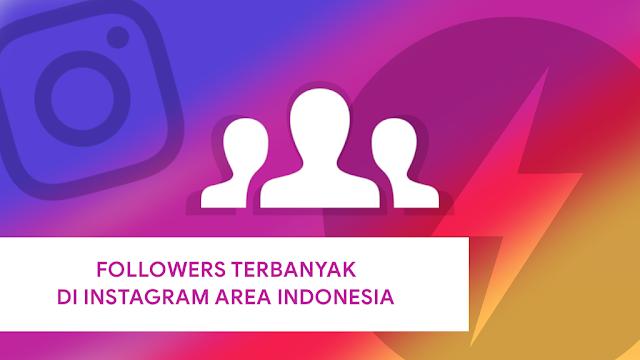 Akun Instagram Followers terbanyak di Indonesia