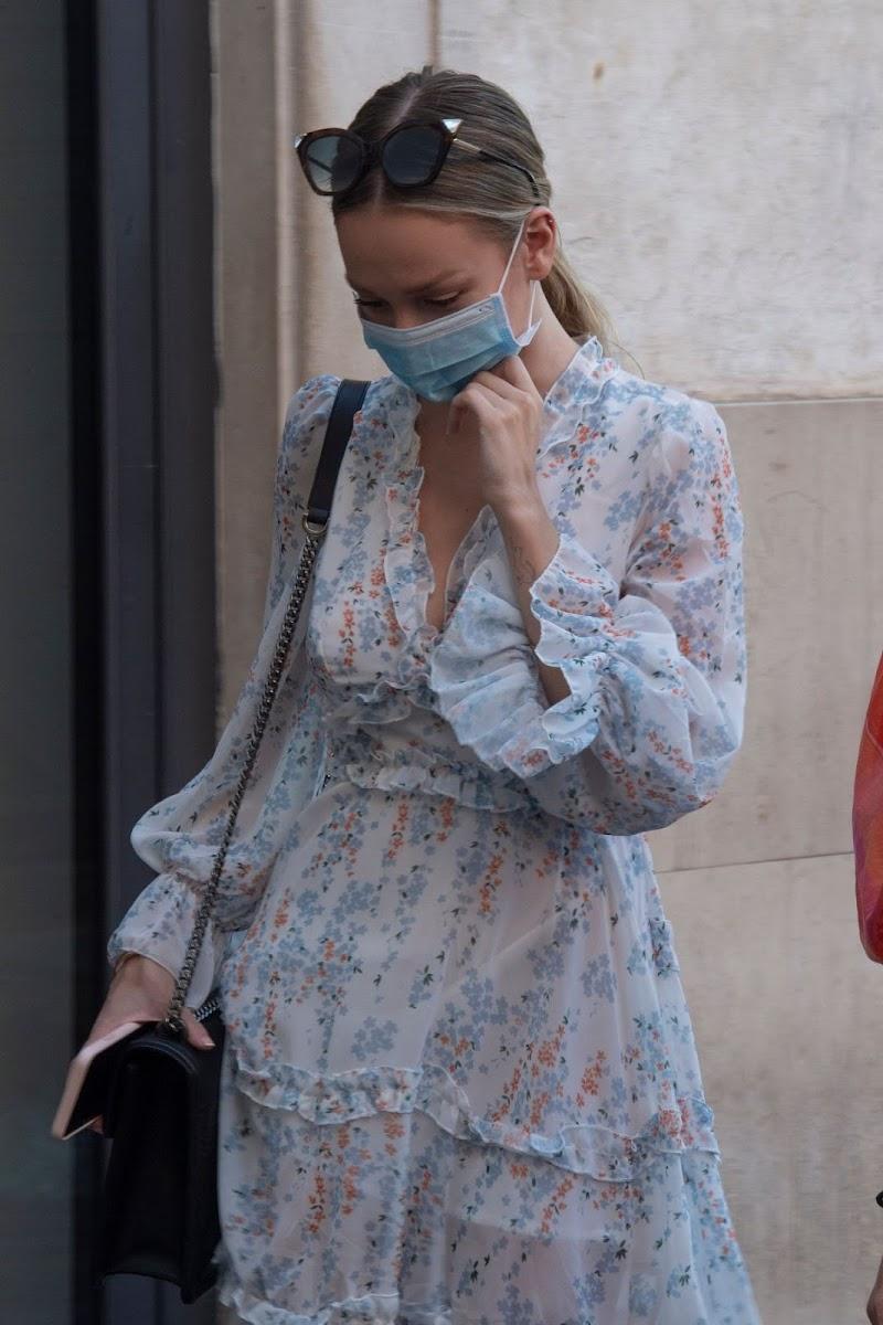 Ester Expósito Clicked Outside  in Rome 6 Jul -2020