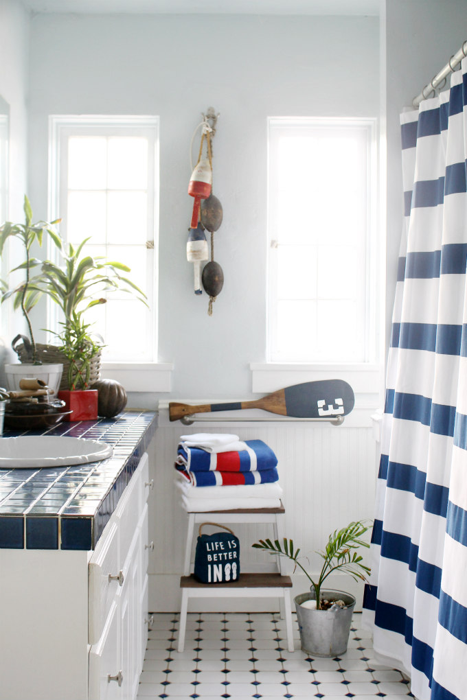 A Bathroom Refresh Using AllNatural Cleaning Products The Wicker - Natural cleaning products for bathroom