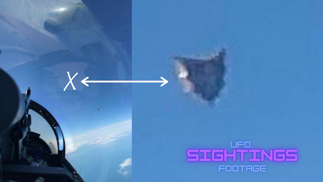 UFO evidence is shown in the photo.