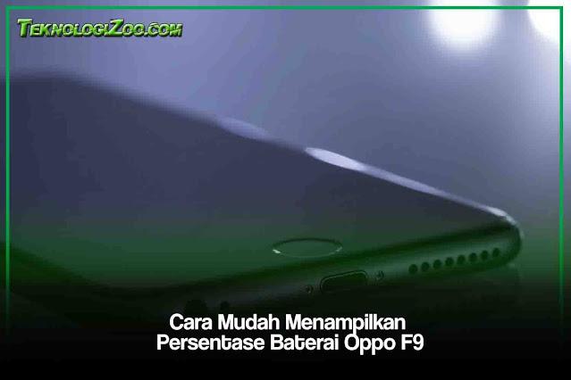 cara menampilkan persentase baterai oppo a3s