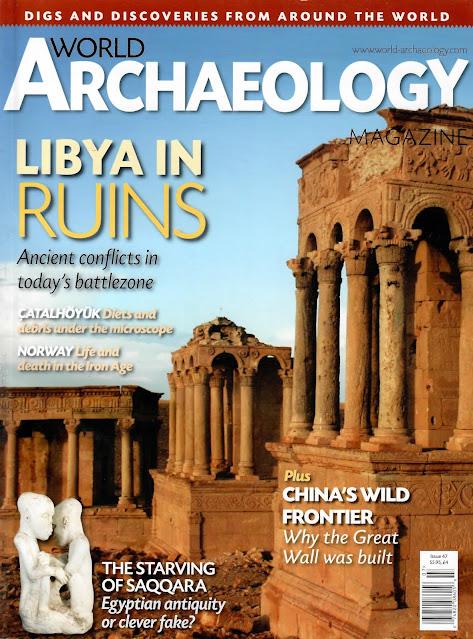 World Archaeology Magazine - June/July 2011