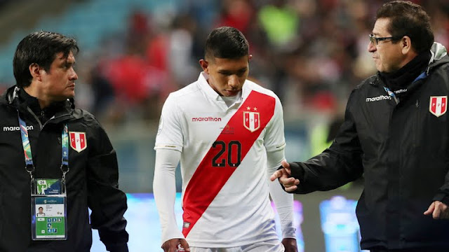 Chile vs Peru  Semi Final
